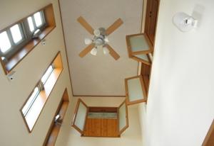 高断熱高気密住宅ならではの吹き抜け構造を実現